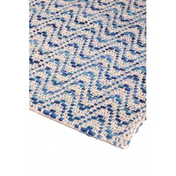 Cotton and merino wool rug,...