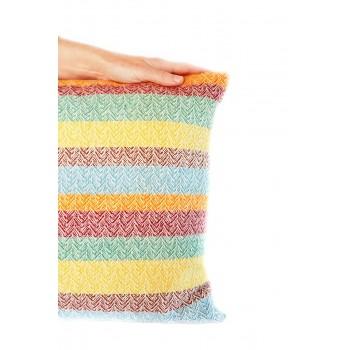 Coussin en laine mérinos...