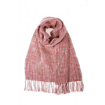 Bufanda de algodón y lino...